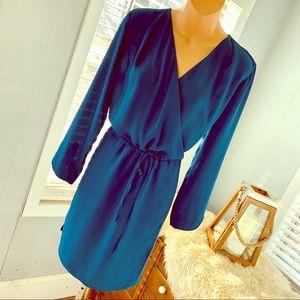 Stitch Fix BEAUTIFUL blue belted dress! Like NEW!!